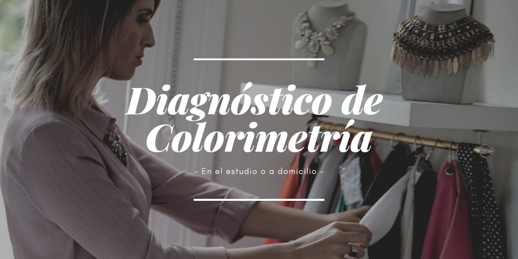 Diagnóstico de colorimetría individual online o presencial.