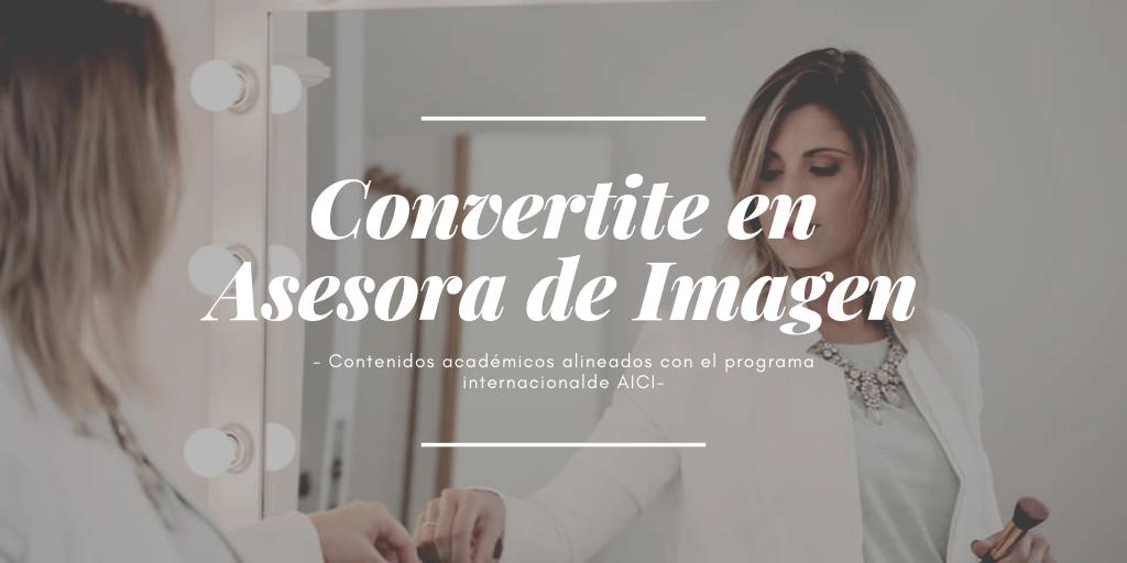 CARRERA: ASESORA DE IMAGEN – CURSADA ONLINE